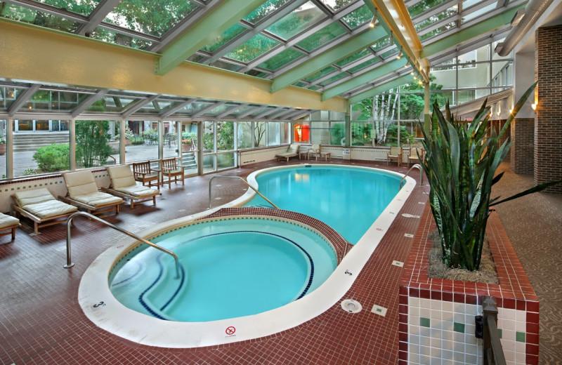 Indoor pool at Radisson Hotel Detroit-Bloomfield Hills.
