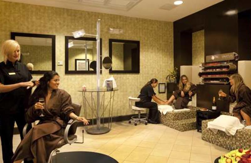 The spa at Embassy Suites Deerfield Beach Resort.