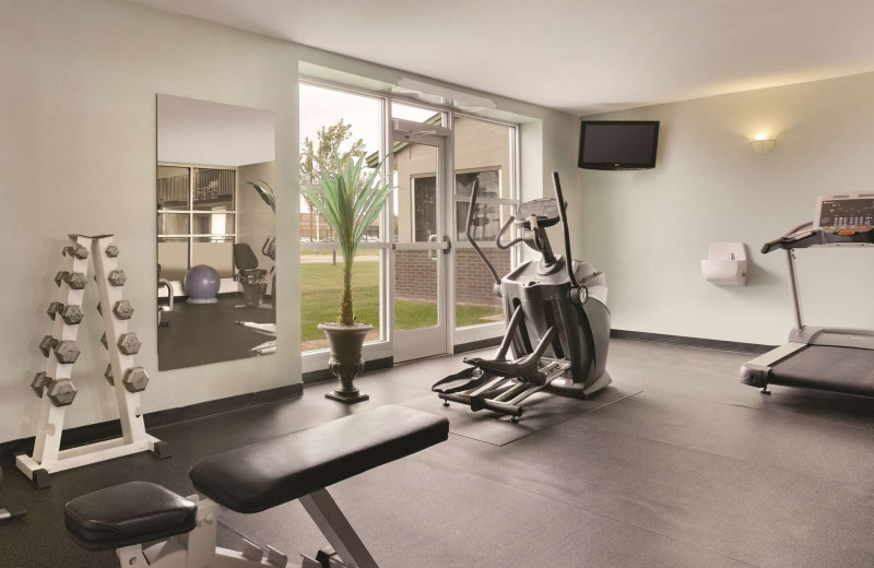 Fitness room at Country Inn & Suites - Fergus Falls.