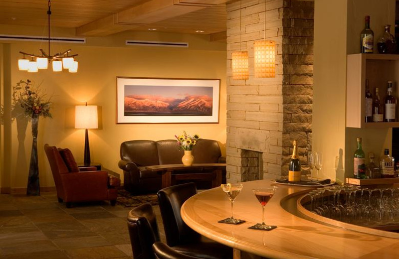 Bar & Lobby at Edelweiss Lodge.