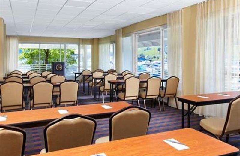 Meeting room at Sheraton Sonoma County.