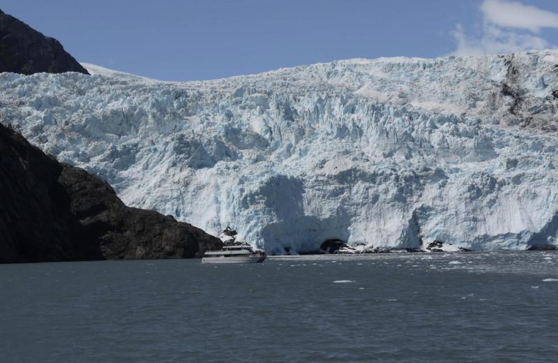 Glacier at Gwin's Lodge & Kenai Peninsula Charter Booking Service.