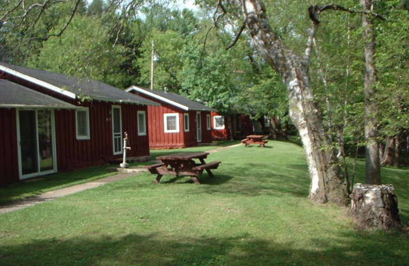 Exterior view of Twin River Resort.