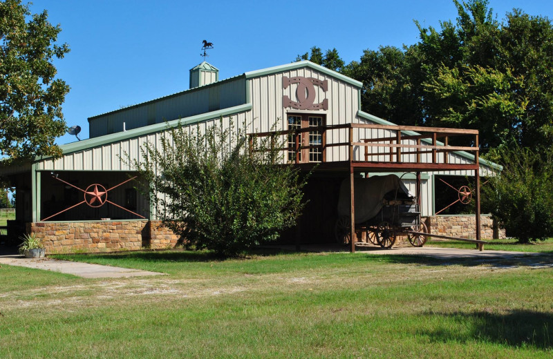 Exterior view of Mustang RV Ranch.