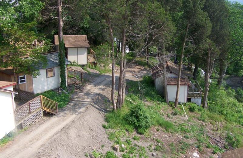 Cabins at Finger Lakes Waterfall Resort