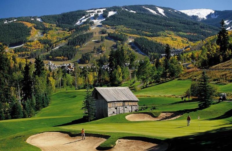 Golf course at The Charter at Beaver Creek.