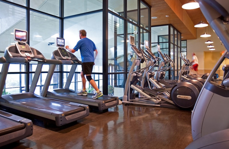 Fitness room at Omni Barton Creek Resort & Spa.