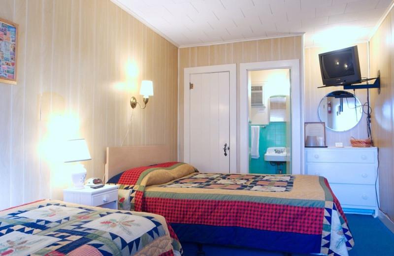 Motel room at Trout House Village Resort.