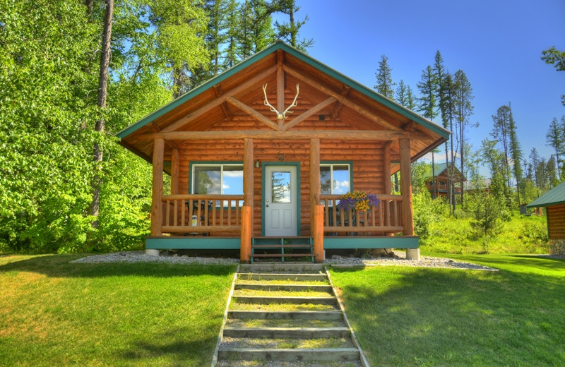 This is one of our 1 bedroom cabins. They are beautiful inside, cozy and have all the modern amenities you will need.  Best of all they are located only 1/2 mile from Glacier National Park