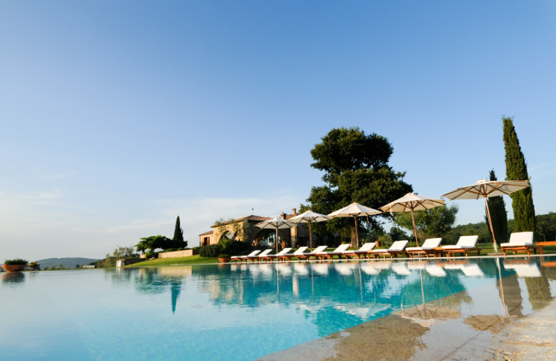 Outdoor pool at Podere Dionora.