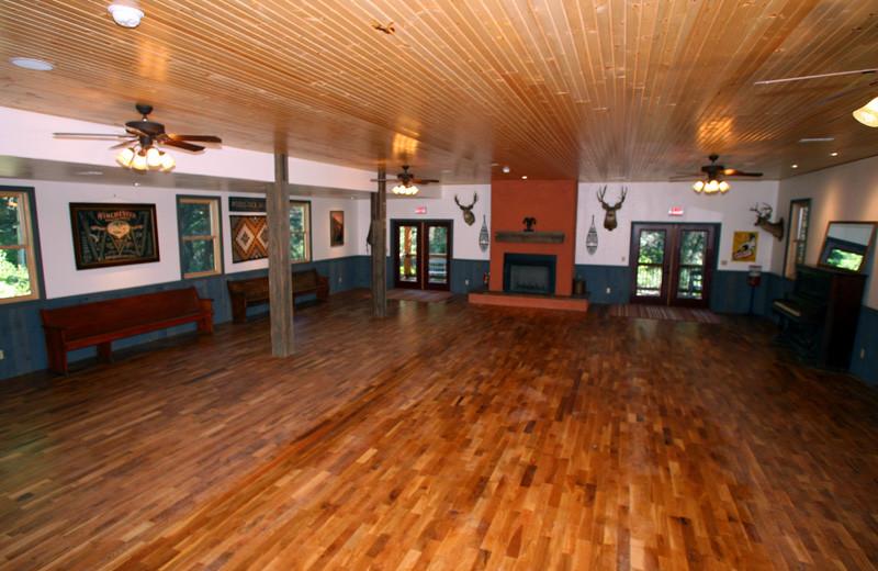 Dance Hall at Tumbling River Ranch.