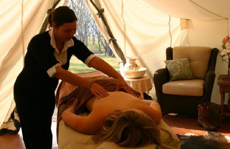 Massages at Siwash Lake Ranch
