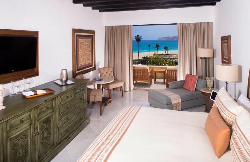 Guest room at Casa Del Mar Golf Resort & Spa.