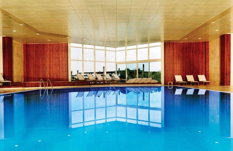 Indoor pool at Renaissance Polat Istanbul Hotel.