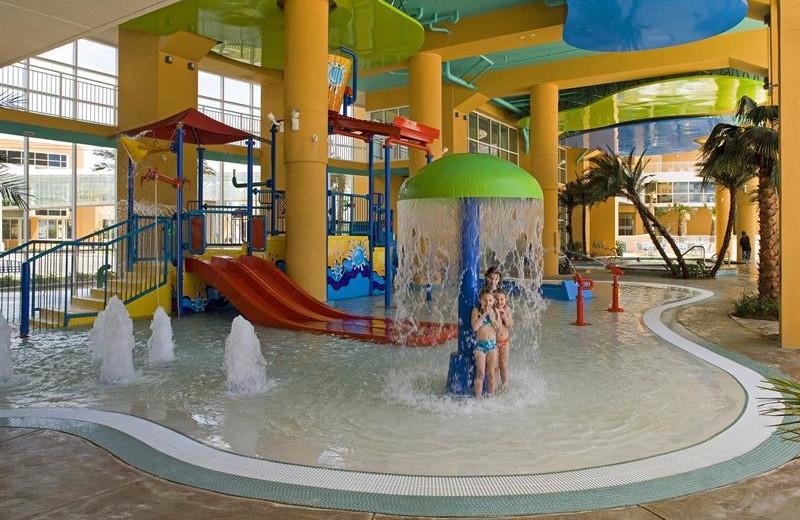 Waterpark at Splash Resort.