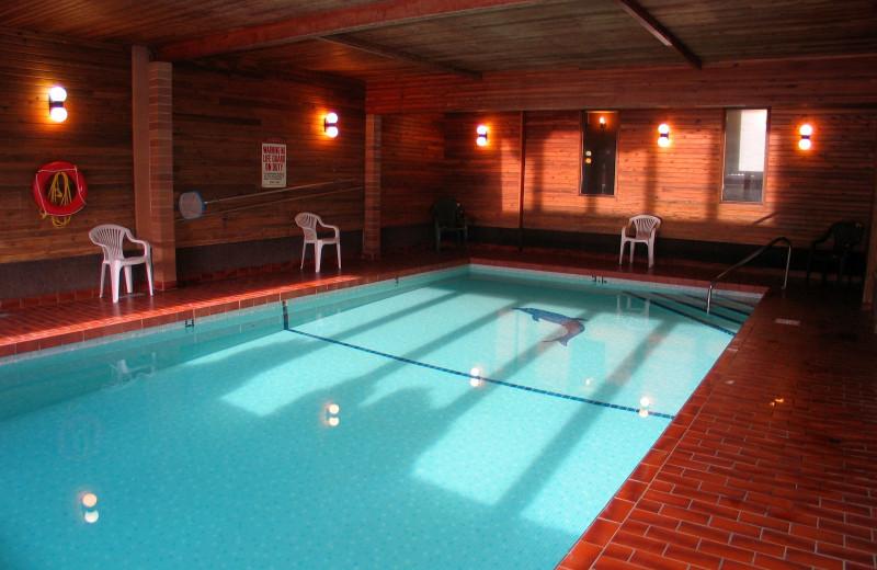 Indoor pool at Dilworth Inn.