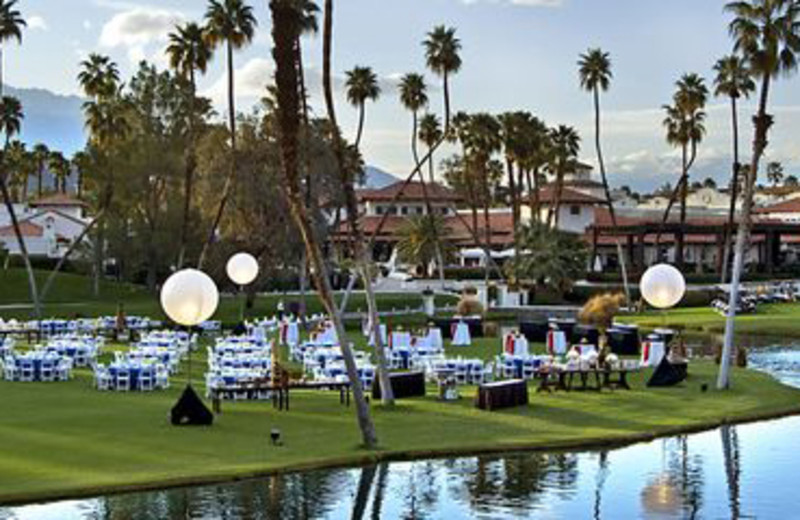 Outdoor Venue at Rancho Las Palmas Resort