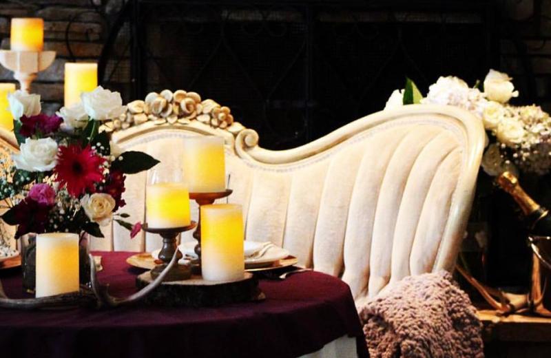 Table at Tsasdi Resort.