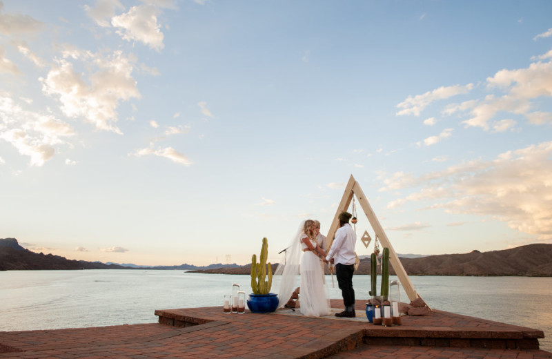 Wedding at Havasu Springs Resort.