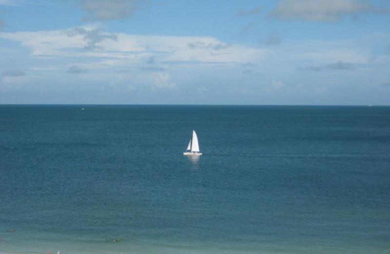 The beach at Sunshine Resort Rentals, LLC.