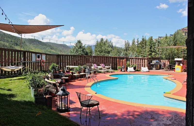 Outdoor pool at Vail Run Resort.