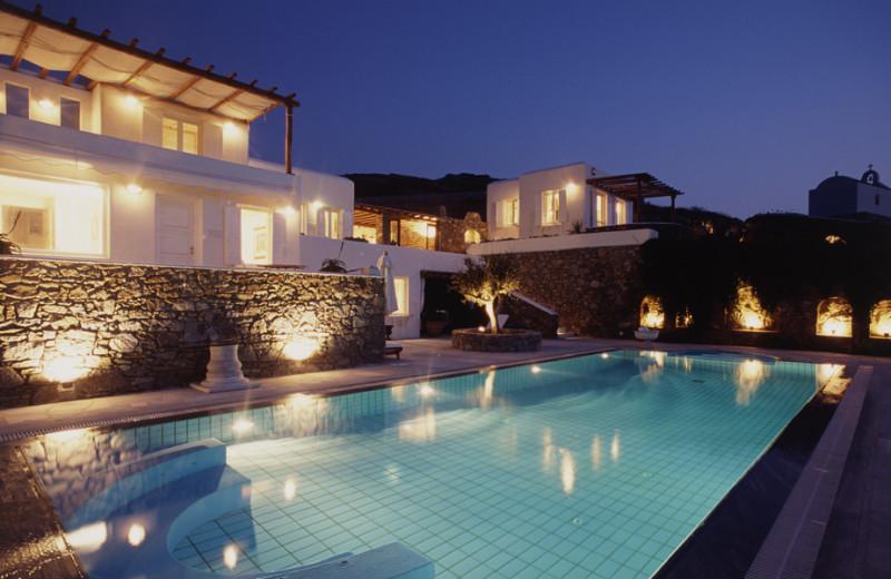 Villa pool at Villa Galaxy.