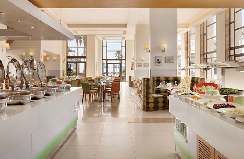 Dining Area at Ramada Resort Dead Sea