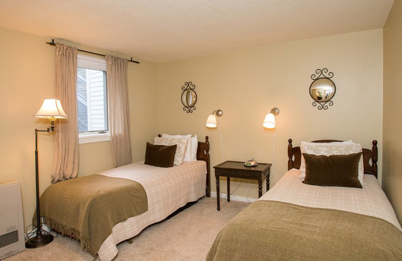 Rental bedroom at Stowe Vacation Rentals & Property.