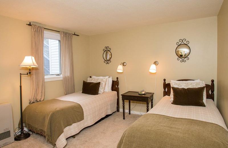 Rental bedroom at Stowe Vacation Rentals & Property.