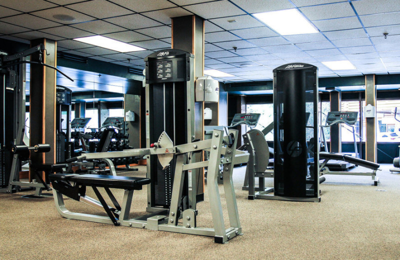 Fitness room at Westgate Smoky Mountain Resort & Spa.