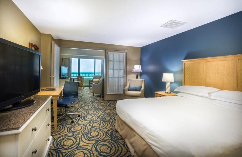 Guest Room at Hilton Daytona Beach Resort/Ocean Walk Village