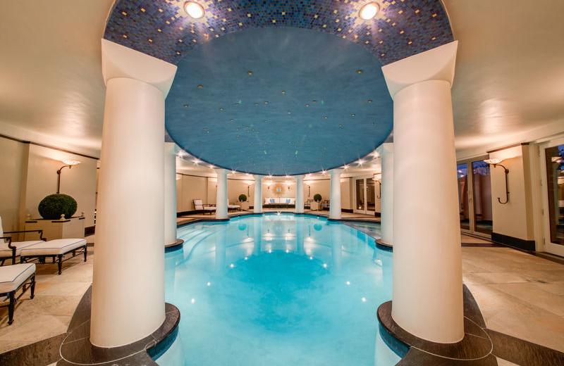 Rental indoor pool at Aspen Luxury Vacation Rentals.