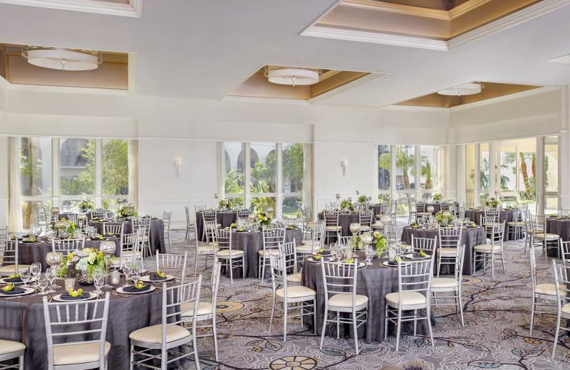 Wedding reception at The Ritz-Carlton, Laguna Niguel.