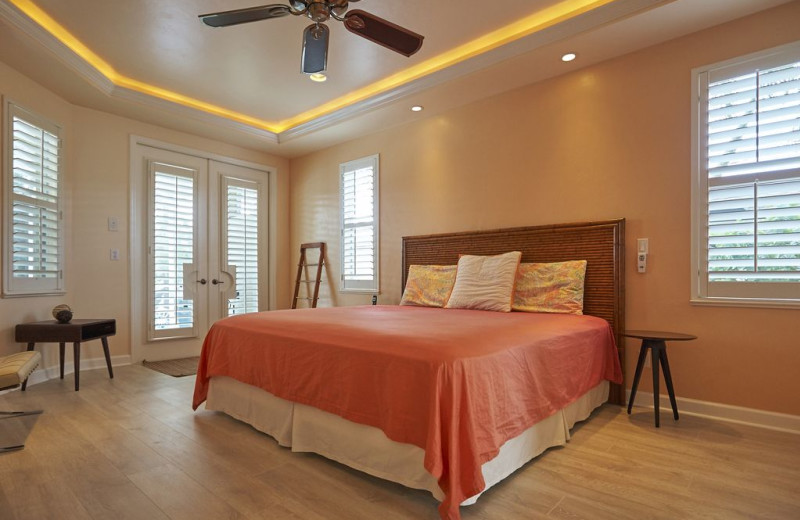 Rental bedroom at Realty Group Southwest Florida.
