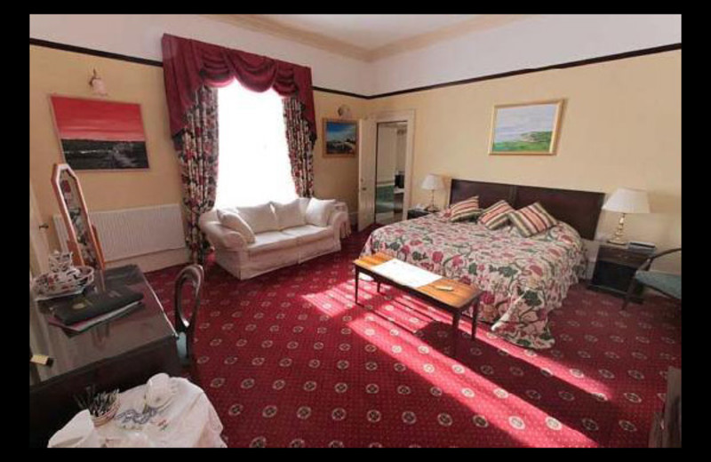 Guest room at Cleaton House.