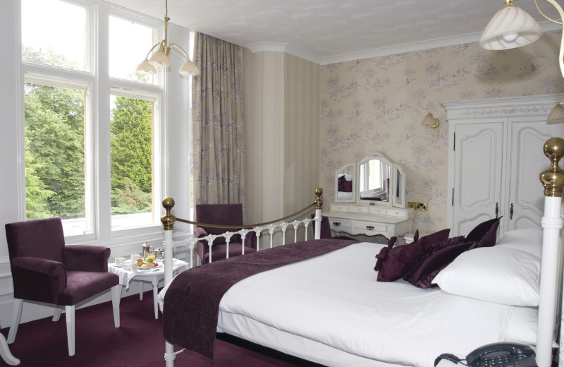 Guest room at Oaklands Country House Hotel.