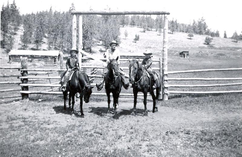 Horseback riding at YD Guest Ranch.