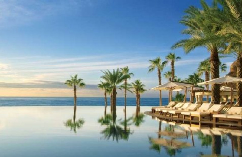 Infinity pool at Hilton Los Cabos Resort.