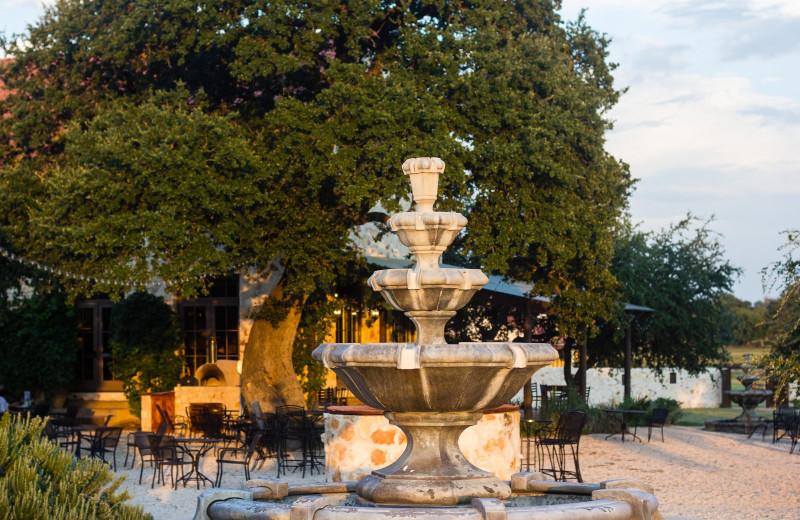Patio at The Vineyard at Florence.