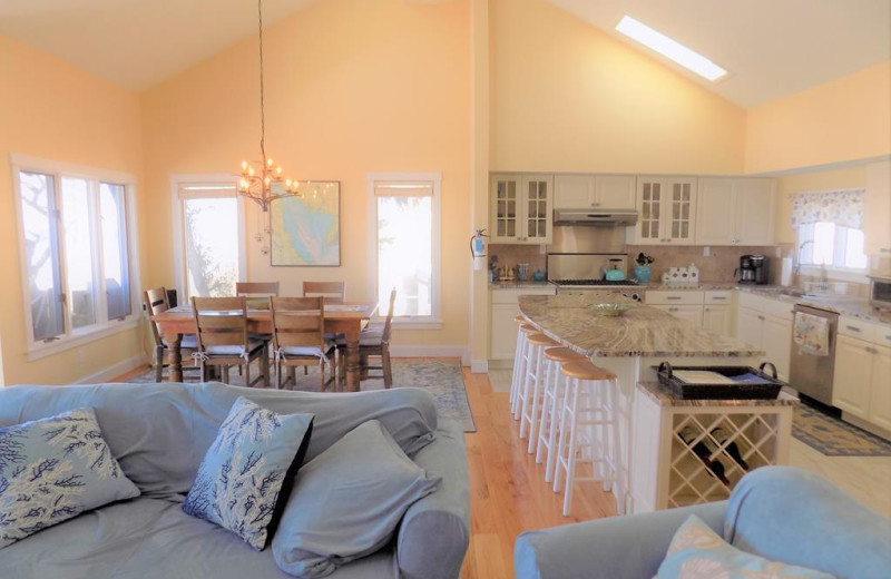 Rental interior at Jersey Cape Realty.