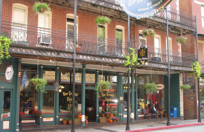 New Orleans Hotel And Spa Eureka Springs