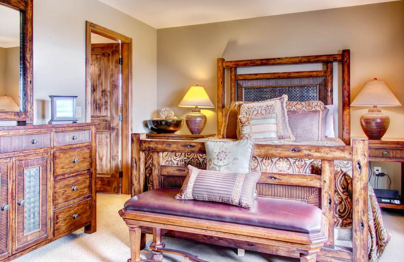 Beautiful Master Bedrooms at RentChalets