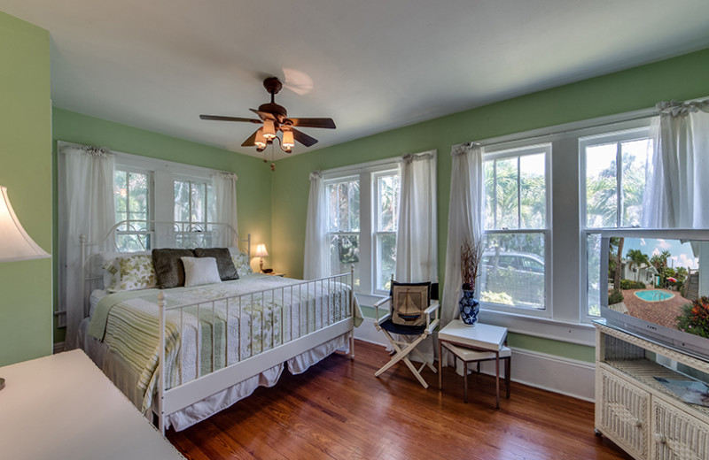 Rental bedroom at Belloise Realty.