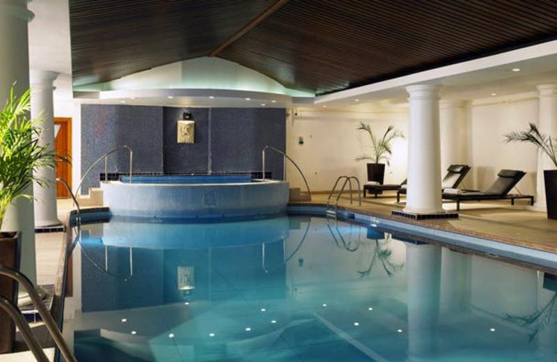 Indoor pool at Bexleyheath Marriott Hotel.