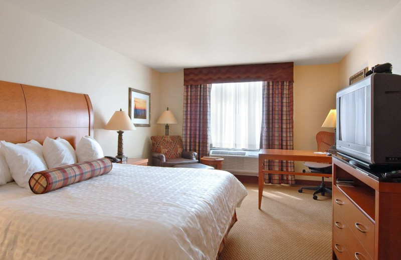 Guest room at Hilton Garden Inn Missoula.