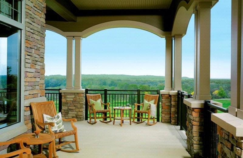 Porch Seating at Lansdowne Resort