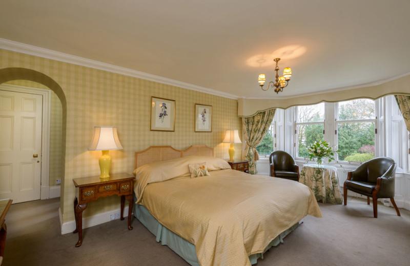 Guest room at Castleton House Hotel.