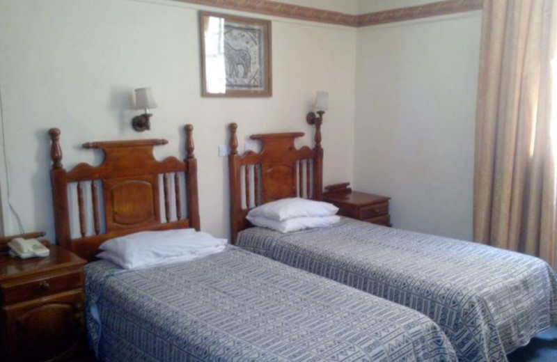 Guest room at Selborne Hotel.