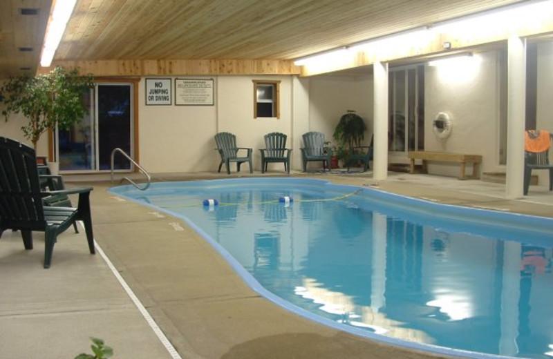 Indoor pool at Wildwood on the Lake.