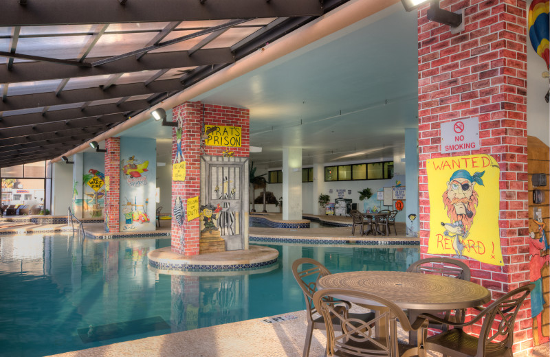Indoor pool at Caribbean Resort & Villas.